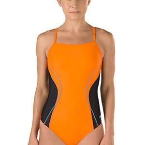 SPEEDO PowerFlex Eco Race II Tech Swimsuit $74